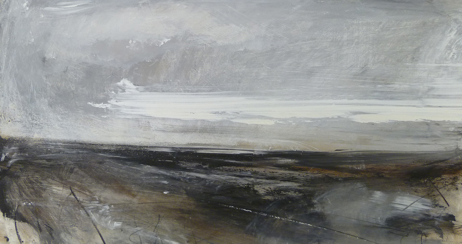 The Moors Edge (23 x 46cm) £300