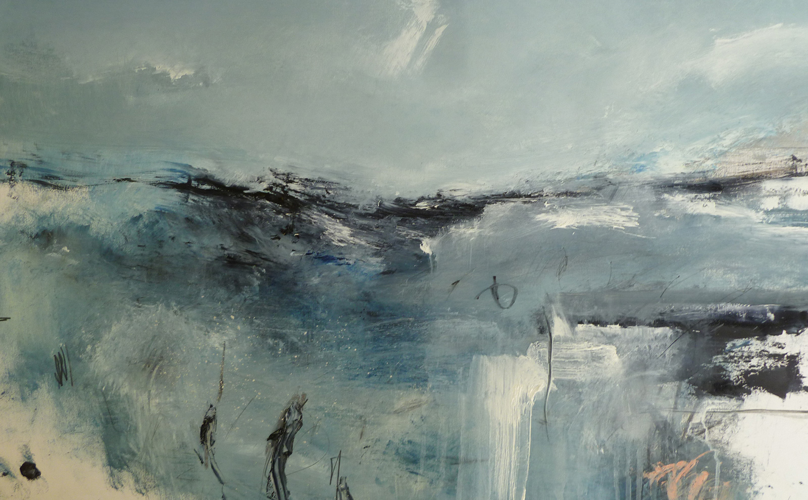 The Sea (100 x 64cm) SOLD